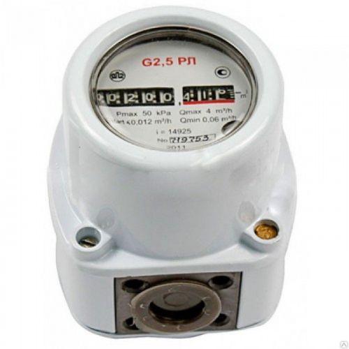 Счетчик газа G2.5 для аспиратора УОПВ 4
