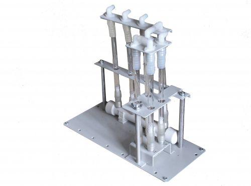 Штатив ШТ-4СТ, NO для сорбционных трубок для автоматического отбора одной пробы воздуха на NO